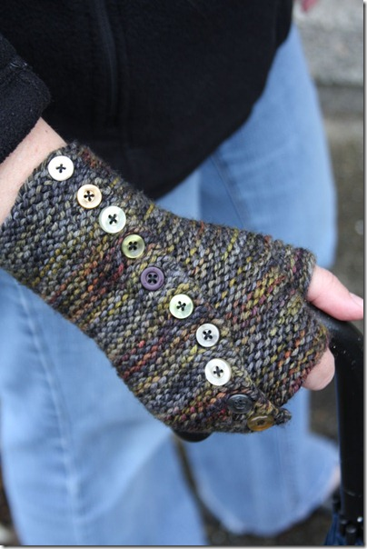 Knitquest Axis Fingerless Mitts Release